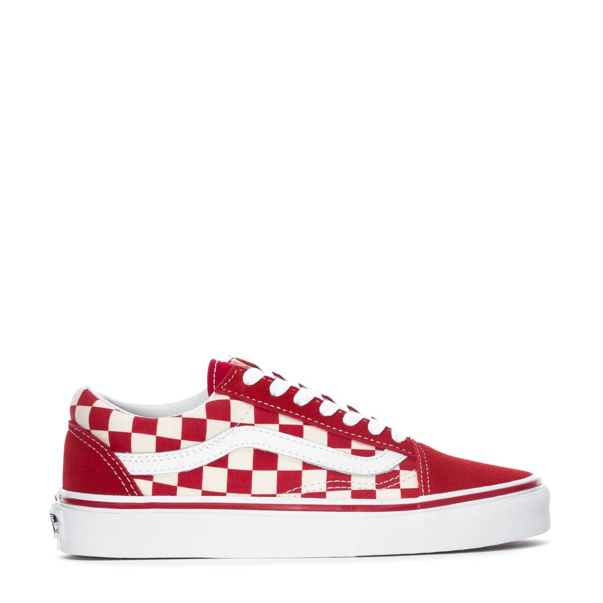 red checkered vans
