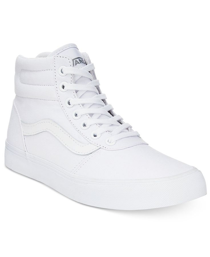 white high top vans