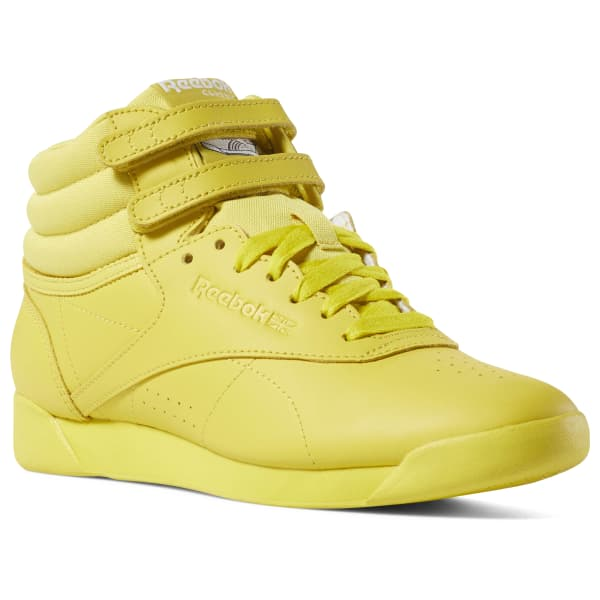 yellow reebok